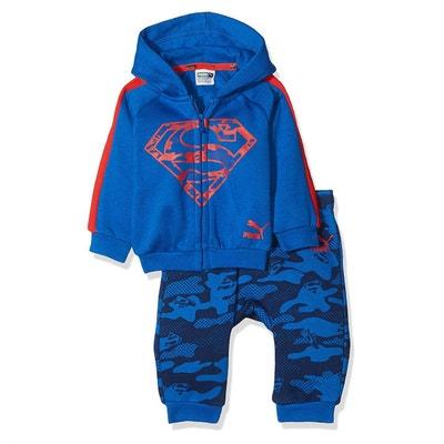 b467353fdd8d3 Survetement Justice Superman Jogger Lapins Jr Survetement Justice Superman  Jogger Lapins Jr PUMA