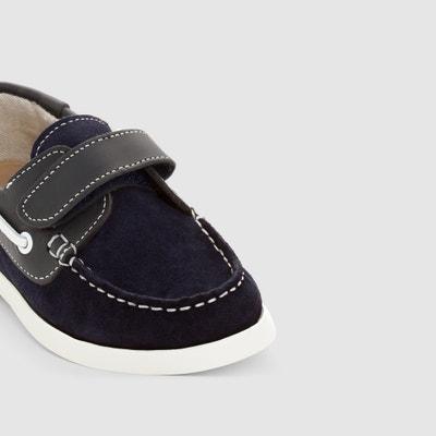 Suede Deck Shoes 26-40 La Redoute Collections