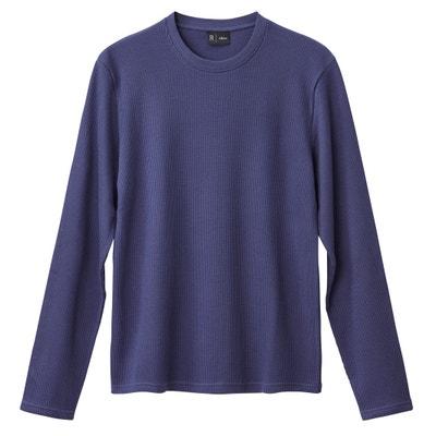 Tee shirt  col rond manches longues Tee shirt  col rond manches longues La Redoute Collections