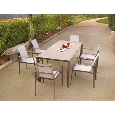Ensemble table, chaise de jardin | La Redoute