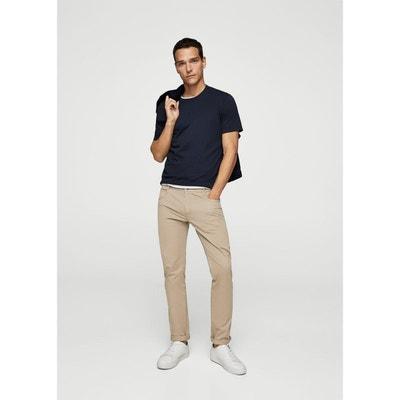 Pantalon slim-fit 5P coton Pantalon slim-fit 5P coton MANGO MAN 28a0ed36ab50
