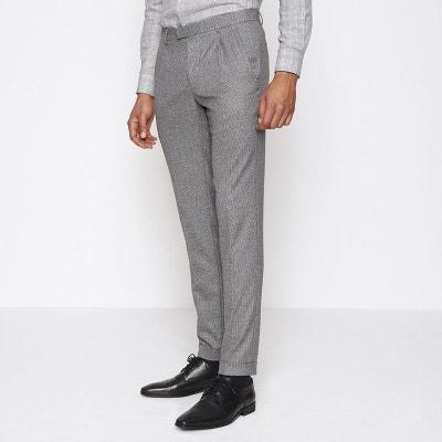 63094b68a43e7 Pantalon de costume Homme à carreaux Pantalon de costume Homme à carreaux  DEVRED