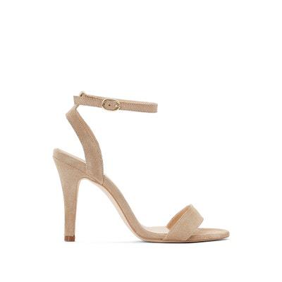 Suede High-Heeled Sandals JONAK