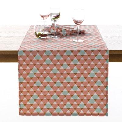 Acilia Printed Table Runner La Redoute Interieurs