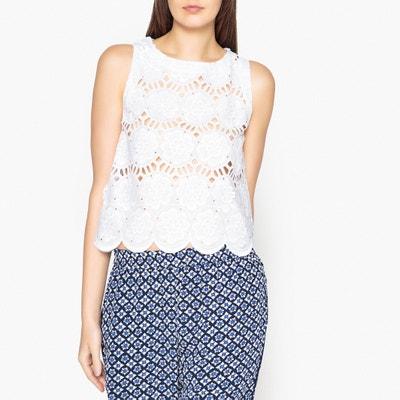 Блузка из кружева без рукавов OBEY Блузка из кружева без рукавов OBEY VALERIE KHALFON