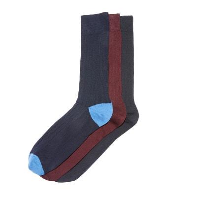 Комплект из 3 пар носков, 100% шотландское волокно Комплект из 3 пар носков, 100% шотландское волокно La Redoute Collections