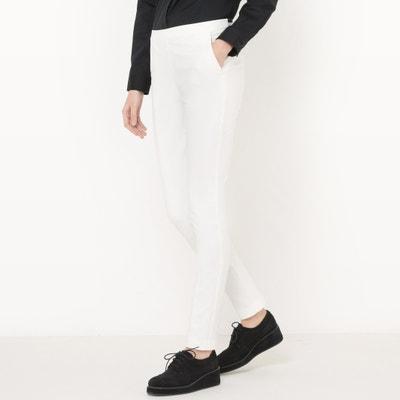 Rechte broek met elastische taille achteraan Rechte broek met elastische taille achteraan La Redoute Collections