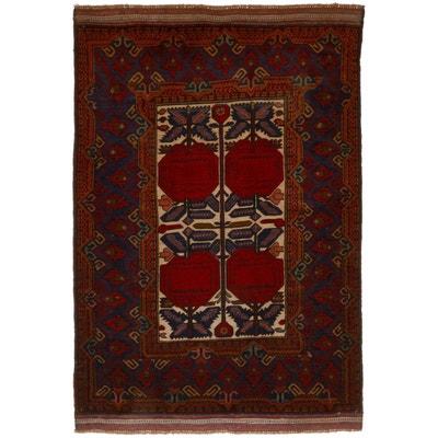 tapis dorient nou main bergeste relief 3d laine un amour de tapis - Tapis Oriental Rouge