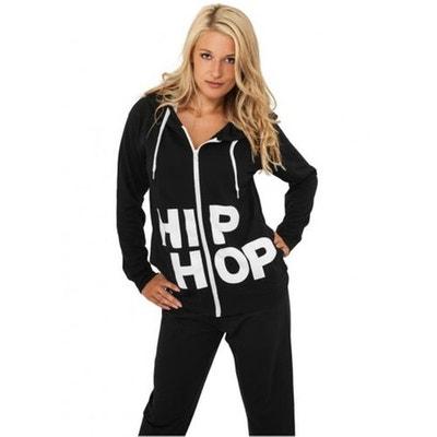 Sweat zippé URBAN DANCE Noir Hip Hop Danse à capuche URBAN DANCE a86c0860790