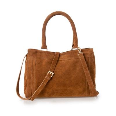 Removable StrapSuede Handbag Removable StrapSuede Handbag La Redoute Collections
