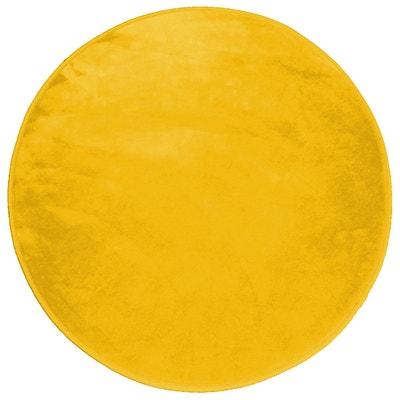 tapis jaune moutarde la redoute. Black Bedroom Furniture Sets. Home Design Ideas