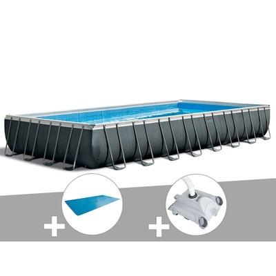 Kit piscine tubulaire Intex Ultra Silver rectangulaire 9,75 x 4,88 x 1 6411bca4e640