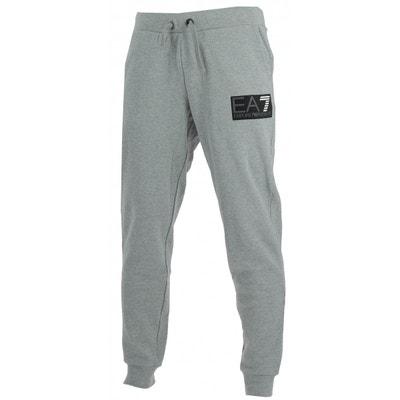 31f0560e044d4 Pantalon de survêtement Coton Pantalon de survêtement Coton EMPORIO ARMANI  EA7. Soldes