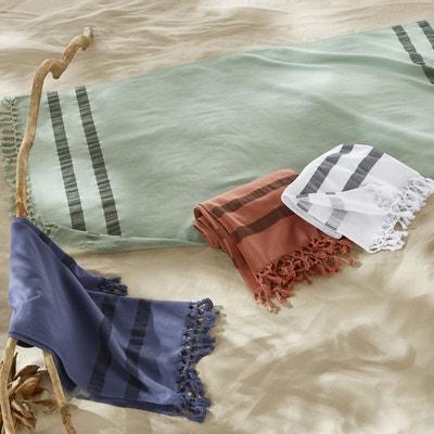 Fouta envers éponge format drap de plage ANTALYA Fouta envers éponge format drap de plage ANTALYA LA REDOUTE INTERIEURS