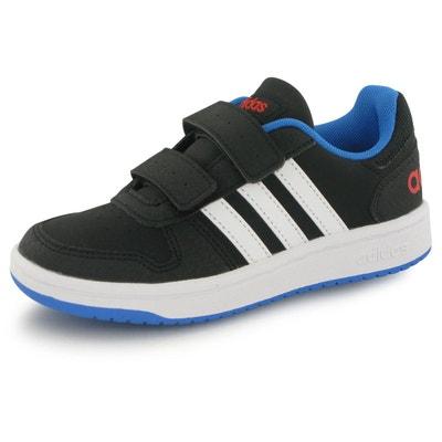 2935bab0f5f11 Baskets Adidas Hoops 2.0 Bb Noir Bebe adidas