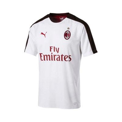89a433083855b Maillot Puma Maillot Milan Ac Stadium Jersey 2018-19 Blanc Homme Maillot  Puma Maillot Milan