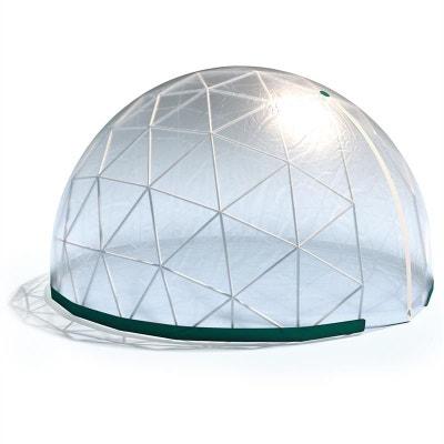 Blumfeldt Star Dome Serre 3,6x2,2m structure PVC/bâche transparente BLUMFELDT