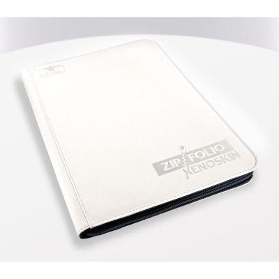 Ultimate Guard album portfolio A4 ZipFolio XenoSkin Blanc ULTIMATE GUARD