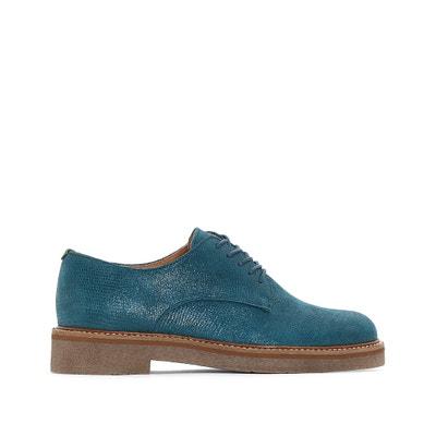 Sapatos derbies em pele OXFORK Sapatos derbies em pele OXFORK KICKERS