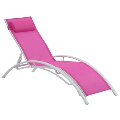 Chaise longue, transat Habitat et jardin | La Redoute on chaise sofa sleeper, chaise furniture, chaise recliner chair,