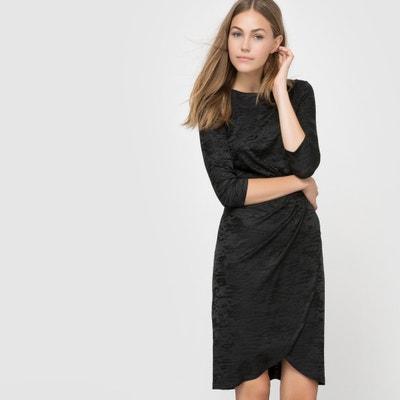 Платье из бархатистого материала с подпалинами Платье из бархатистого материала с подпалинами FRENCH CONNECTION