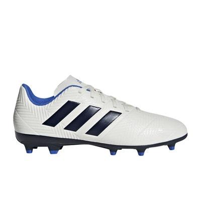 4b134a0edec9a Chaussures football adidas Nemeziz 18.4 FG Blanc Femme adidas Performance