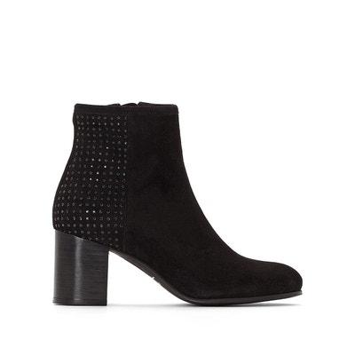 Boots cuir velours Dalwin Boots cuir velours Dalwin JONAK. Soldes 537f95739721