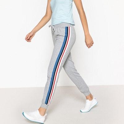 Pantaloni da jogging, fasce laterali colorate Pantaloni da jogging, fasce laterali colorate La Redoute Collections