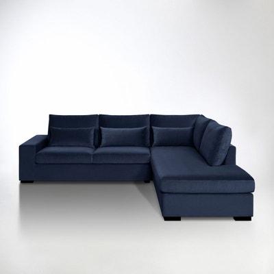 Canapé d'angle Odessa, Bultex, velours Canapé d'angle Odessa, Bultex, velours La Redoute Interieurs