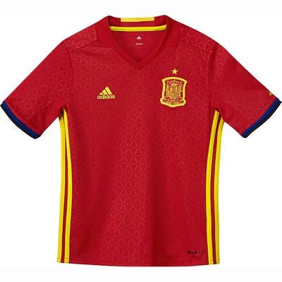 T-shirt Espanha UEFA EURO 2016, 7 - 16 anos T-shirt Espanha UEFA EURO 2016, 7 - 16 anos ADIDAS