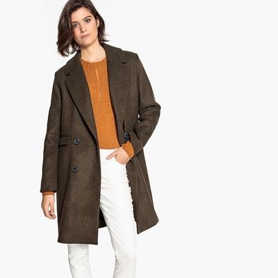 26d546b85045b Manteau masculin mi-long en laine mélangée LA REDOUTE COLLECTIONS