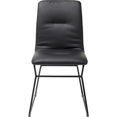 chaise zorro noire kare design kare design - Chaise Noire Design