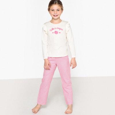 Bedrukte pyjama met lange mouwen Bedrukte pyjama met lange mouwen La Redoute Collections