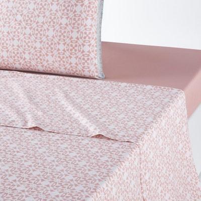 YUCATAN Printed Cotton Flat Sheet YUCATAN Printed Cotton Flat Sheet La Redoute Interieurs