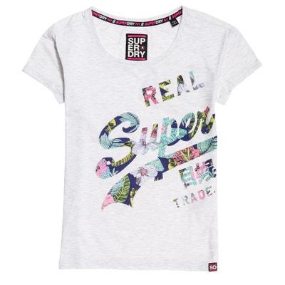 T-Shirt mit rundem Ausschnitt T-Shirt mit rundem Ausschnitt SUPERDRY