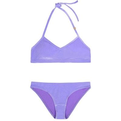 Maillot de bain velours violet Maillot de bain velours violet MINA STORM