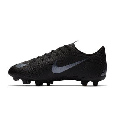 1870e0baa9348 Chaussures football Nike Mercurial Vapor XII Academy MG Noir Junior Chaussures  football Nike Mercurial Vapor XII
