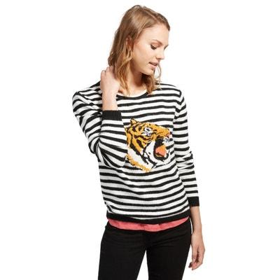 Пуловер с круглым вырезом из тонкого трикотажа Пуловер с круглым вырезом из тонкого трикотажа TOM TAILOR