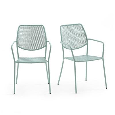 Cadeira de jardim OSLO (lote de 2) Cadeira de jardim OSLO (lote de 2) La Redoute Interieurs