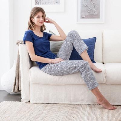 Pantalon pyjama en coton Liberty of London Pantalon pyjama en coton Liberty of London BLANC CERISE
