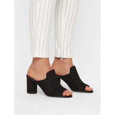 Chaussure ouverte en a Redoute talon noire soldeLa yNnvm80wO