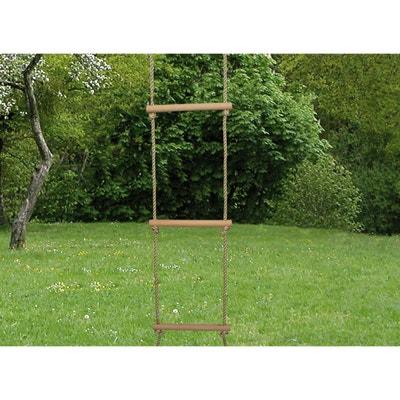 Echelle en bois 5 barreaux - Accessoire balançoire Echelle en bois 5 barreaux - Accessoire balançoire SOULET