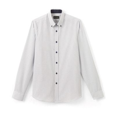 Camisa slim estampada La Redoute Collections