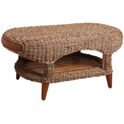 Table Ovale Teck En Solde La Redoute