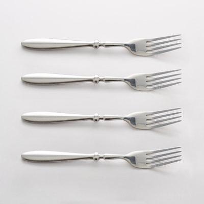 Set of 4 Rakinen Stainless Steel Forks Set of 4 Rakinen Stainless Steel Forks La Redoute Interieurs