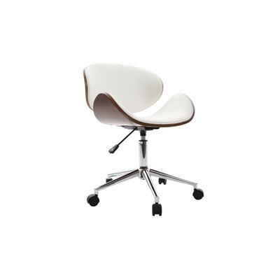 Chaise De Bureau Design Bois WALNUT MILIBOO