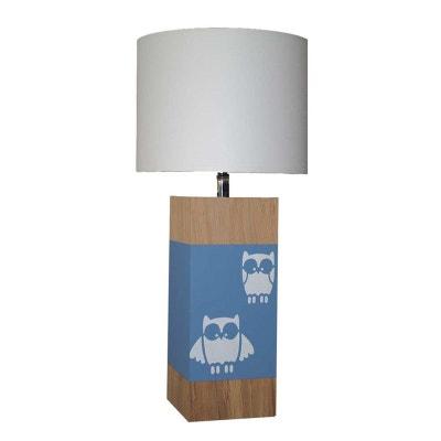 Petite lampe en bois hiboux Up S L34