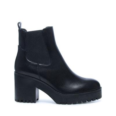 Chelsea boots avec semelle plateau Chelsea boots avec semelle plateau SACHA