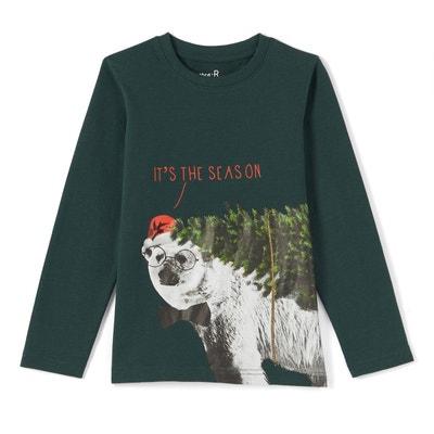 T-shirt noël 3-12 ans La Redoute Collections