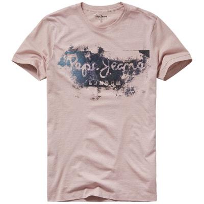 T-shirt col rond, motif devant, Goodge PEPE JEANS